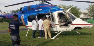 Huejutla helicóptero