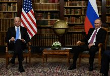 Reunión Biden y Putin