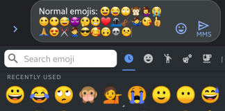 Emojis Google