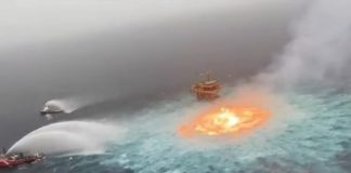 Incendio Ducto submarino